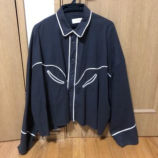 Jieda - Jieda ウエスタンシャツ 黒 サイズ2