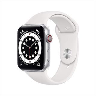 アップル(Apple)の【44mm / GPS + Cellularモデル】Apple Watch 6(腕時計(デジタル))