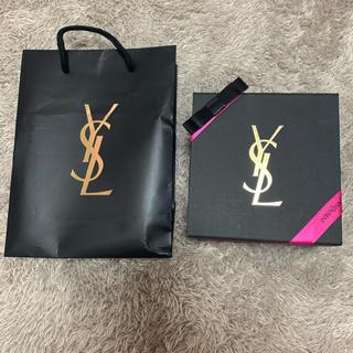 イヴサンローランボーテ(Yves Saint Laurent Beaute)のysl イヴサンローラン 空箱 ボックス プレゼント(ショップ袋)