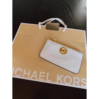 マイケルコース(Michael Kors)の新品未使用 MICHAEL KORSマイケルコースコインケース 小物入れ バッグ(コインケース)