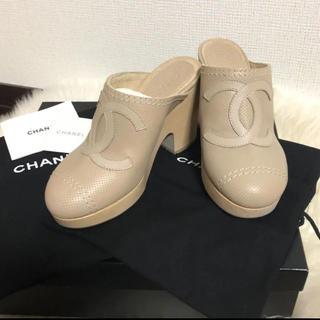 CHANEL - 【極美品】CHANEL♡ココマーク♡サボサンダル