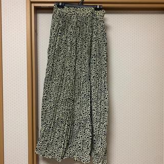 ディスコート(Discoat)のdiscoat レオパード柄 ロングスカート (ロングスカート)