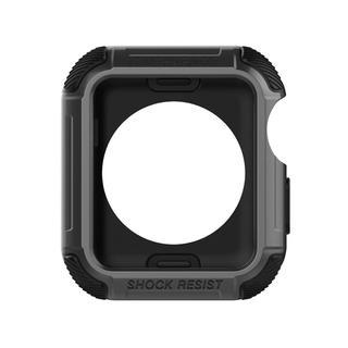 アップル(Apple)の④【海外人気商品】ダークグレイ/38mm アップルウォッチ  プロテクター(腕時計(デジタル))