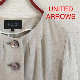 ユナイテッドアローズ(UNITED ARROWS)のユナイテッドアローズ ノーカラージャケットM(ノーカラージャケット)