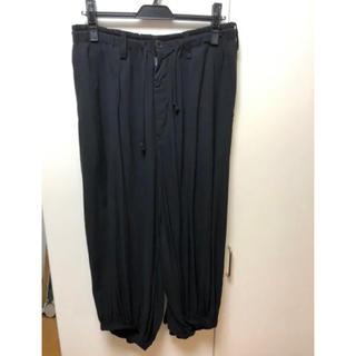 ヨウジヤマモト(Yohji Yamamoto)のYohji Yamamoto ヨウジヤマモト カラスパンツ 18ss サイズ1(スラックス)