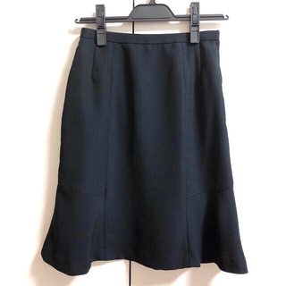 制服 事務服 スーツ スカート マーメイド 黒 7号 喪服 夏服 冬服