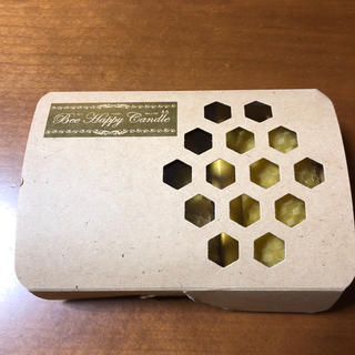 ヤマダヨウホウジョウ(山田養蜂場)の山田養蜂場 Bee Happy Candle  ビーハッピーキャンドル(キャンドル)
