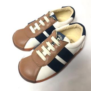 アンパサンド(ampersand)の【新品・未使用】AMPERSAND スニーカー 運動靴 17㎝(スニーカー)