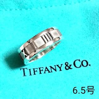 Tiffany & Co. - TIFFANY&Co.アトラスピンキーリング6.5号(美品)