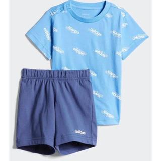 アディダス(adidas)のadidas アディダス(K)I FAVOURITES Tシャツ&ショーツセット(Tシャツ)