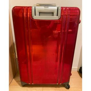ゼロハリバートン(ZERO HALLIBURTON)のゼロハリバートン キャリーバッグ スーツケース ラゲージ 赤(トラベルバッグ/スーツケース)