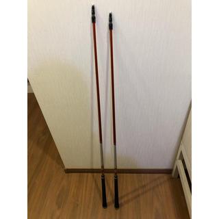 ミツビシ(三菱)の赤マナシャフト3W、5W S テーラーメイドスリーブ付(クラブ)