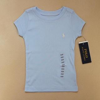 ポロラルフローレン(POLO RALPH LAUREN)の【新品】ポロラルフローレン 半袖 Tシャツ ブルー(Tシャツ/カットソー)