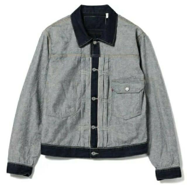 Levi's(リーバイス)のLEVI'S (R)リーバイス BEAMS 別注 XL Inside Out メンズのジャケット/アウター(Gジャン/デニムジャケット)の商品写真
