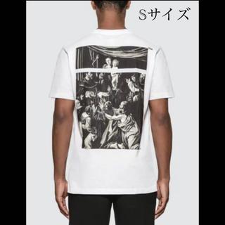 OFF-WHITE - 新品20SS OFF-WHITE カラヴァッジョ スクエア スリムTシャツ S