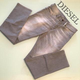 ディーゼル(DIESEL)のセール!diesel buster ディーゼル デニム パンツ グレー 28(デニム/ジーンズ)