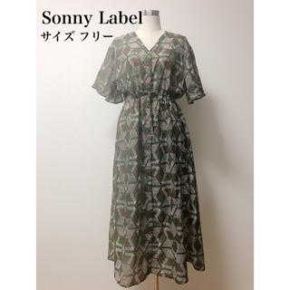 サニーレーベル(Sonny Label)のSonny Label サニーレーベル アーバンリサーチ ロングワンピース(ロングワンピース/マキシワンピース)