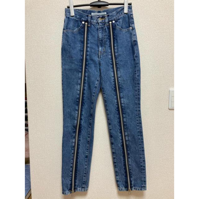 JOHN LAWRENCE SULLIVAN(ジョンローレンスサリバン)のJOHN LAWRENCE SULLIVAN 19ss ジップデニム メンズのパンツ(デニム/ジーンズ)の商品写真