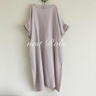 nest Robe - nest Robe フレンチスリーブ ワンピース
