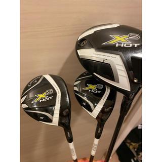 キャロウェイゴルフ(Callaway Golf)のキャロウェイ x2hot ドライバー&3wa5w 3本セット(クラブ)