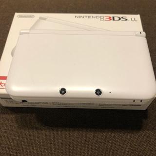 ニンテンドー3DS(ニンテンドー3DS)のNintendo 3DS  LL 本体ホワイト任天堂値下げ(携帯用ゲーム機本体)