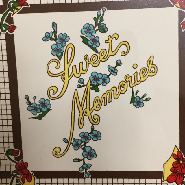FELISSIMO(フェリシモ)の新品 アートタイル 輸入タイル コースター 11 sweets Memories インテリア/住まい/日用品のキッチン/食器(カトラリー/箸)の商品写真