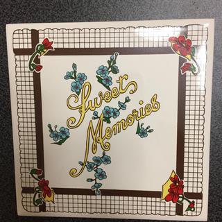 フェリシモ(FELISSIMO)の新品 アートタイル 輸入タイル コースター 11 sweets Memories(カトラリー/箸)