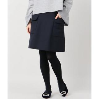 スピックアンドスパン(Spick and Span)のスピックアンドスパン☆サイドポケットスカート(ひざ丈スカート)