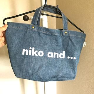 ニコアンド(niko and...)の◆nico and..ニコアンド デニム トートバッグ(トートバッグ)