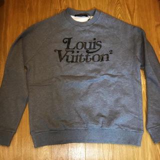 ルイヴィトン(LOUIS VUITTON)の・LOUIS VUITTON NIGO スクエアード スウェット ルイヴィトン(スウェット)