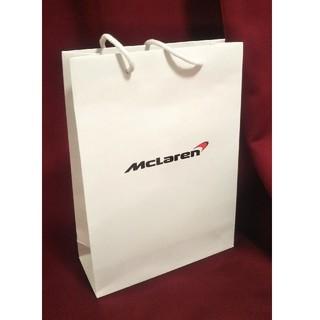 マクラーレン(Maclaren)のマクラーレン 紙袋 輸入車 ディーラー スポーツカー 高級車(車内アクセサリ)