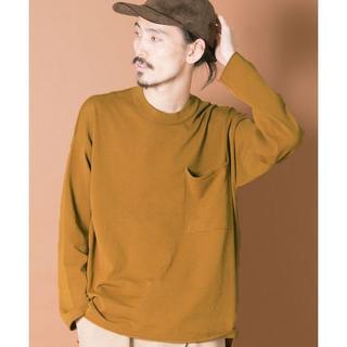 アーバンリサーチ(URBAN RESEARCH)のビッグ ポケット ロング スリーブ ドロップ ニット(Tシャツ/カットソー(七分/長袖))