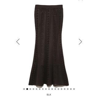 snidel - クロシェマーメイドスカート