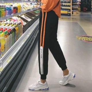 EMODA - オレンジラインジャージ トラックパンツ ラインパンツスタイル ジャージ