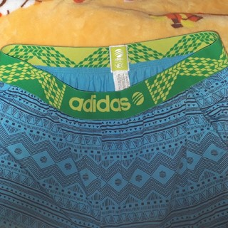 アディダス(adidas)のアディダス 水色柄 ルームパンツ L(その他)