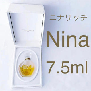 ニナリッチ(NINA RICCI)の⭐️箱付品⭐️ ニナリッチ Nina 7.5ml      (香水(女性用))