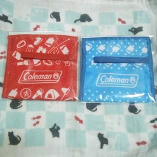 Coleman - 【非売品】青色&赤色2個セット クーリッシュ×コールマン カバータオル