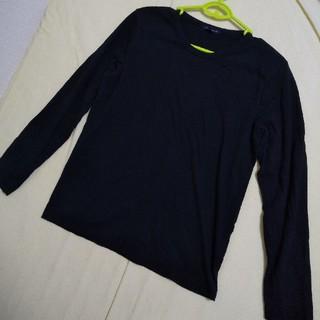 アーバンリサーチ(URBAN RESEARCH)のURBAN RESEARCH長袖トップス/メンズ38/ロンT/黒/ブラック(Tシャツ/カットソー(七分/長袖))