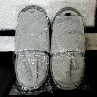 ANA(全日本空輸) - ANA(全日本空輸)プレミアムクラスのスリッパ。2足組
