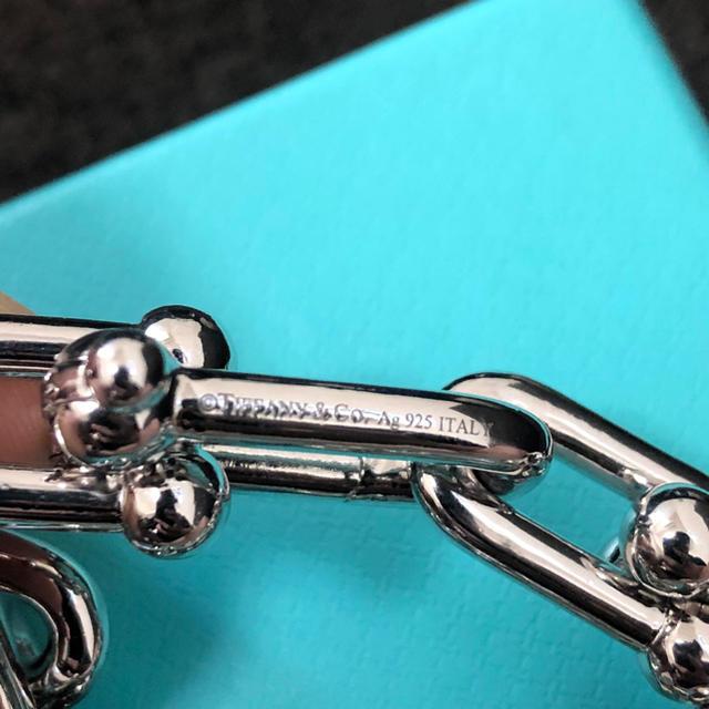 Tiffany & Co.(ティファニー)の【限定値下げ】Tiffany ハードウェア リンクブレスレット メンズのアクセサリー(ブレスレット)の商品写真