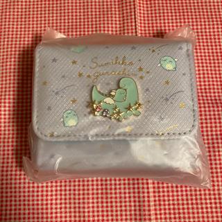サンエックス(サンエックス)のすみっコぐらし とかげの夢テーマ コンパクトワレット(財布)