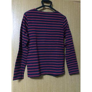 ムジルシリョウヒン(MUJI (無印良品))の無印良品のボーダーカットソー(Tシャツ/カットソー(七分/長袖))