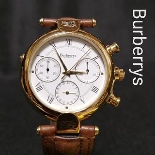 BURBERRY - Burberryバーバリー★4000♥新品♪稼働品メンズ腕時計ヴィンテージ