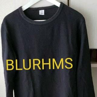 ロンハーマン(Ron Herman)のBLURHMS 長袖カットソー ブラックsize2(Tシャツ/カットソー(七分/長袖))