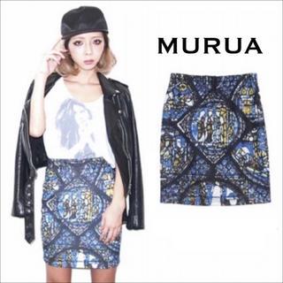 MURUA - MURUA ステンドグラス柄 スカート*リップサービス EMODA デュラス