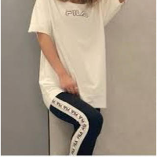 ジェイダ(GYDA)のGYDA×FILA Tシャツ&ラインパンツ(Tシャツ(半袖/袖なし))