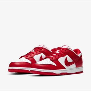 NIKE - 新品未使用 NIKE DUNK LOW SP UNIVERSITY RED 27