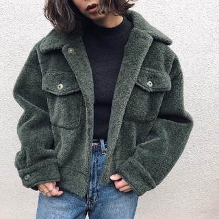 Ameri VINTAGE - アメリヴィンテージ OVER SIZE ECO MOUTON COAT
