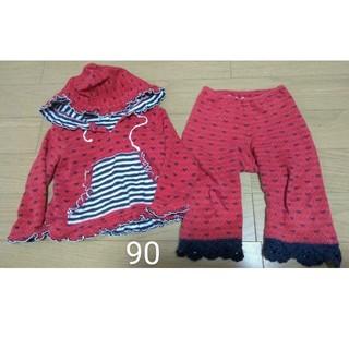 フォーティーワン(FORTY ONE)のフォーティーワン 赤 90サイズ(Tシャツ/カットソー)