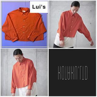 STUDIOUS - 【美品✨】Lui's 100双短丈オーバーシャツ ショートシャツ オーバーシャツ